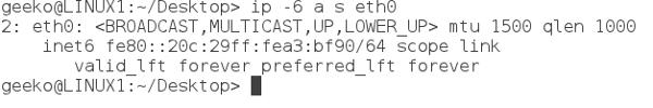 IPv6 Desktop