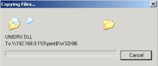 Samba Print Server Copying Files